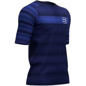 Compressport Racing Camiseta Manga Corta, azul